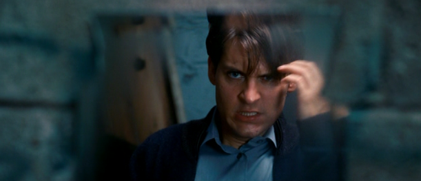 The Many Faces of Tobey Maguire   Popbabble Tobey Maguire Spiderman Face