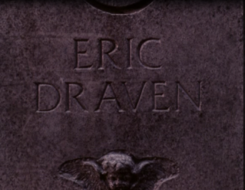 the crow gravestone