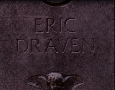 the crow gravestone