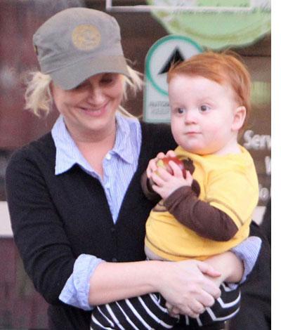 amy poehler ginger baby
