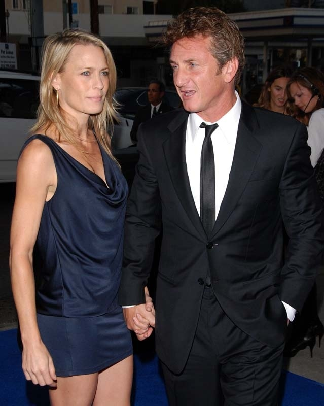 Odd couple the actress that was married to sean penn and that