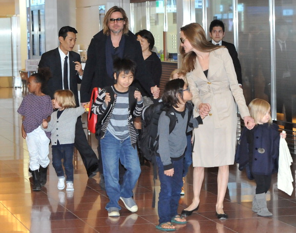 Who's who guide to the Jolie-Pitt children | Popbabble  Who's who g...