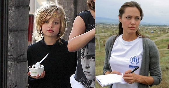 Who S Who Guide To The Jolie Pitt Children Popbabble