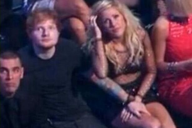 Ellie Goulding And Calvin Harris Are They Dating Ed-Sheeran-Ellie-Gould...