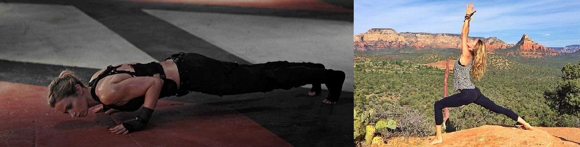 Edge Of Tomorrow Emily Blunt Yoga