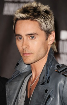 jared leto hair blonde