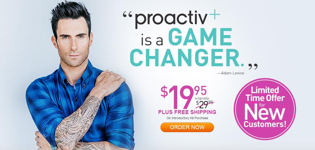 proactive adam levine