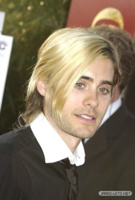 jared leto blonde sweep