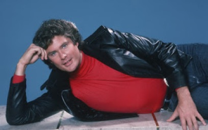 David Hasselhoff Loves The Centerfold Pose Popbabble