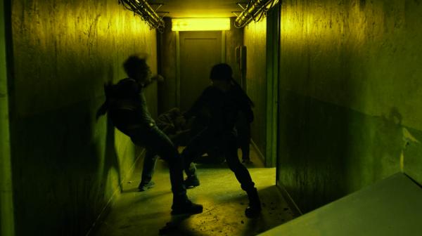 daredevil fight corridor